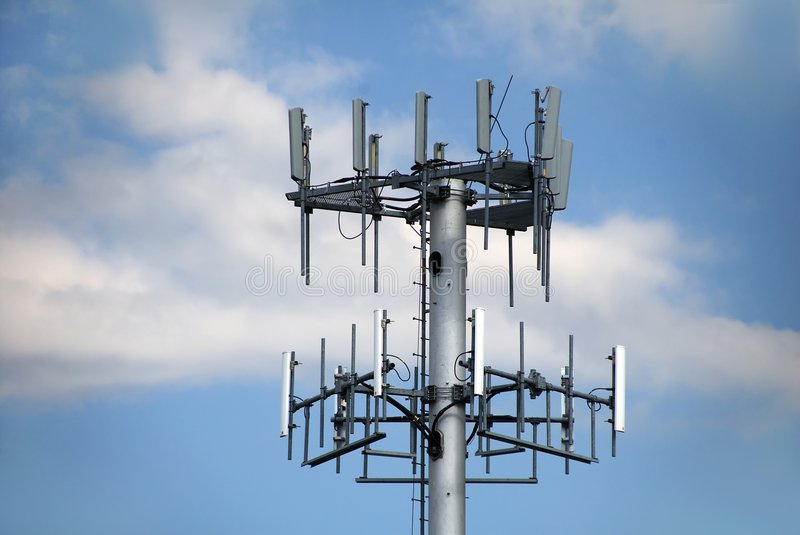 Cell Tower royalty free stock images