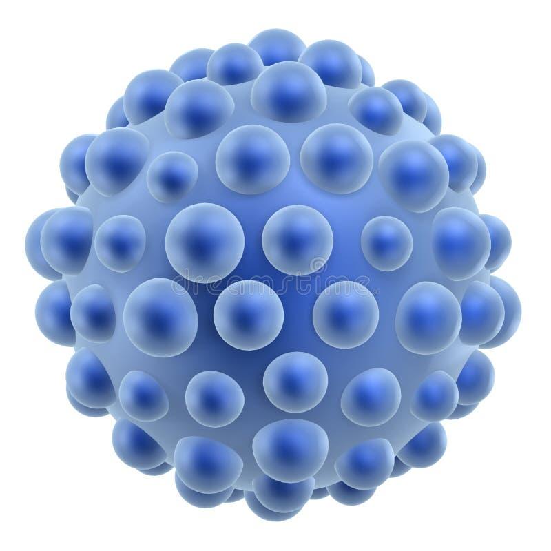 Cella dei batteri illustrazione vettoriale
