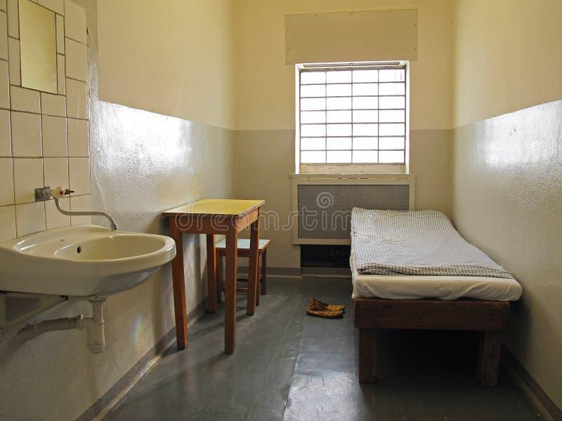Cella di prigione fotografie stock libere da diritti