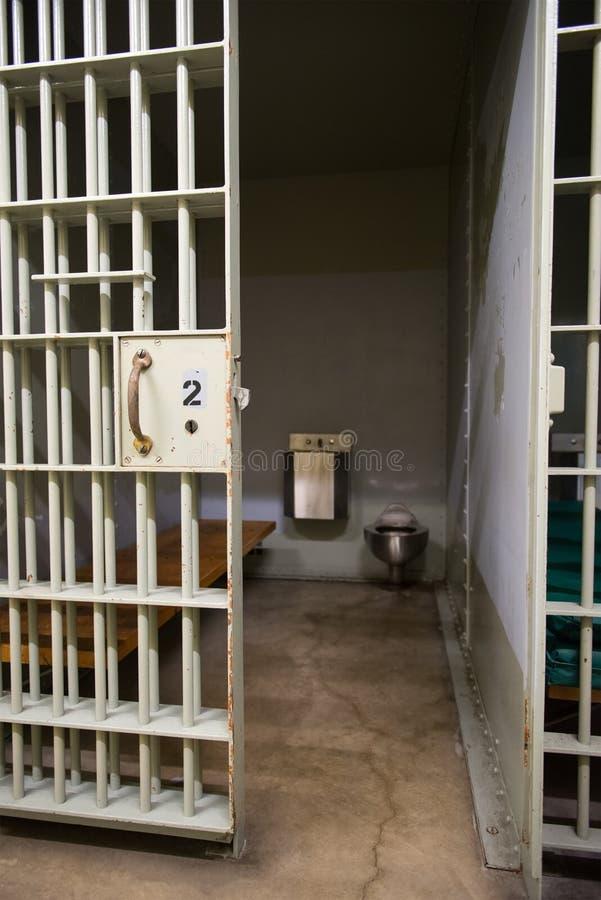 Cella, prigione, applicazione di legge fotografia stock libera da diritti