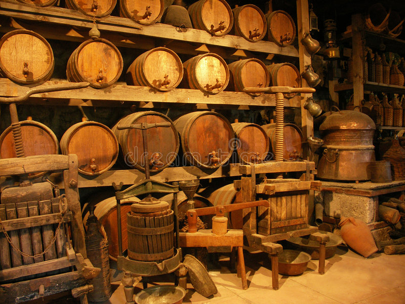 Download Cellar in monastery stock photo. Image of tool, device - 6267738