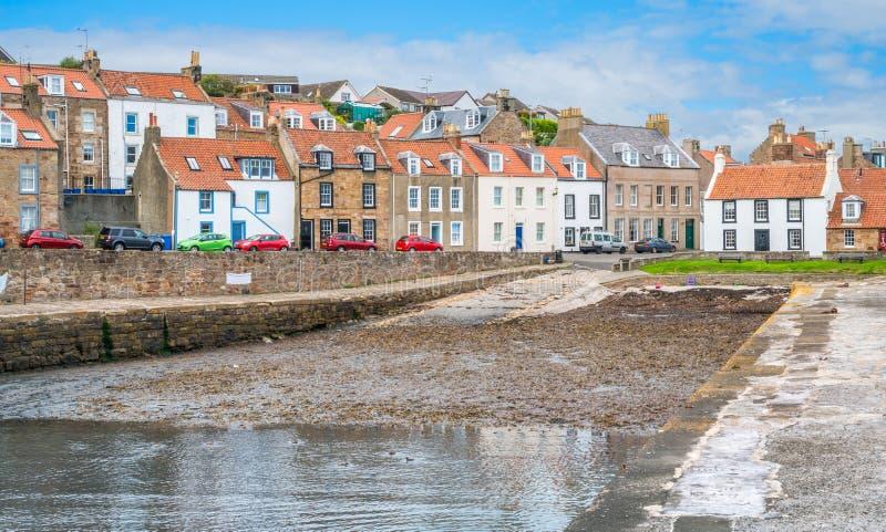 Cellardyke, pueblo en el Neuk del este del Fife, Escocia imagen de archivo libre de regalías
