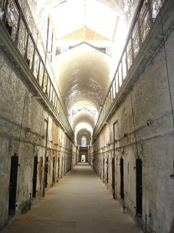 Celle in una prigione immagine stock