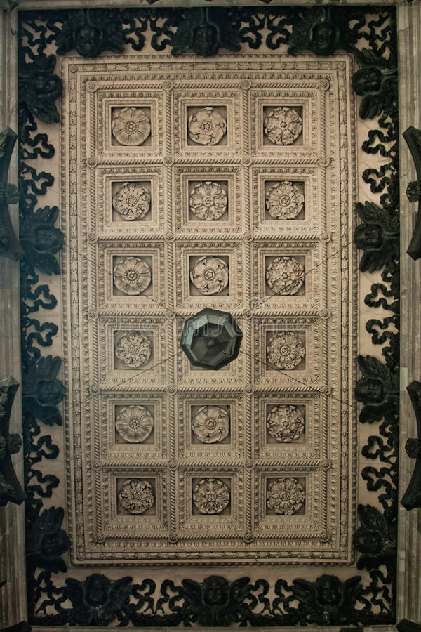 Download Celling In St. Isaac's Cathedral Stock Image - Image: 24229247