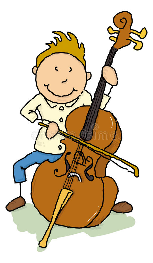 Cellist Royalty Free Stock Photos