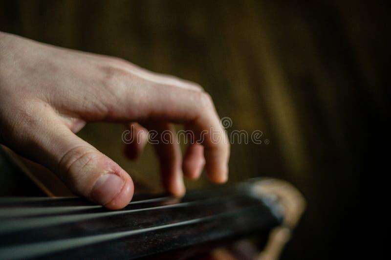 cellist immagine stock