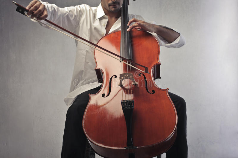 Cello royalty free stock photos
