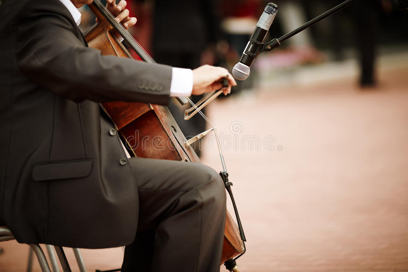 Download Cello stock image. Image of microphone, entertainment - 26651081