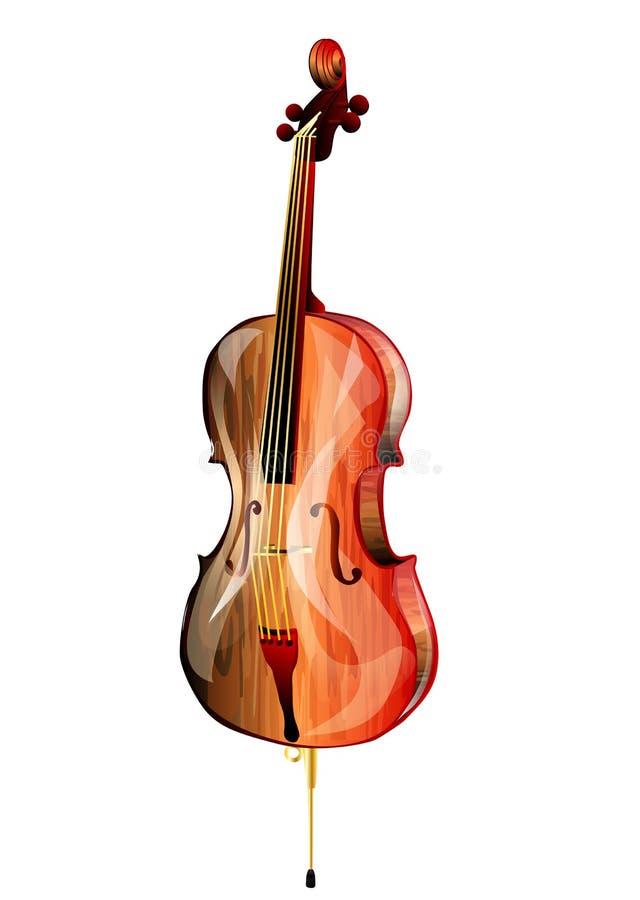 Cello lizenzfreie abbildung