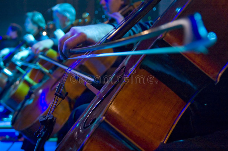 Cello stockbild