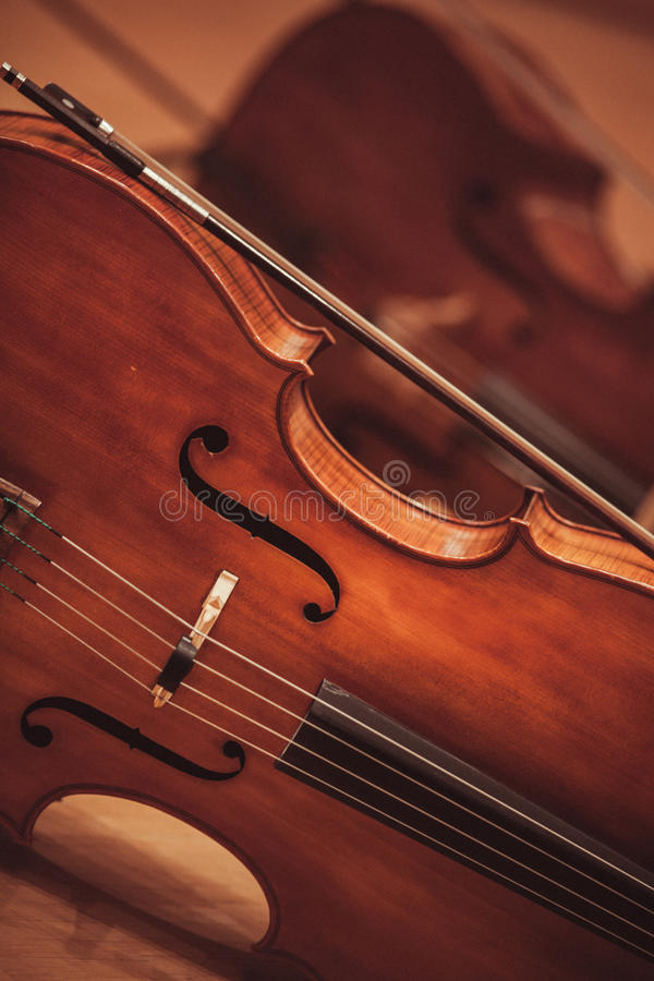 Cello background royalty free stock images