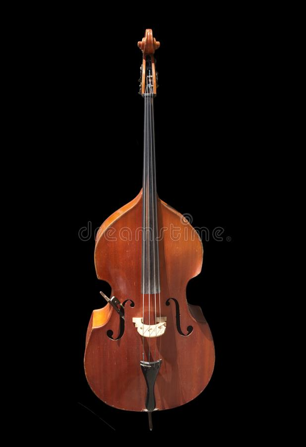 Cello on a black background. Photos in the studio royalty free stock images