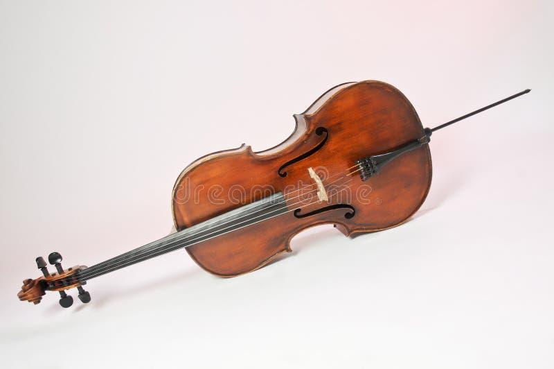 Cello, Musikinstrument stockfoto