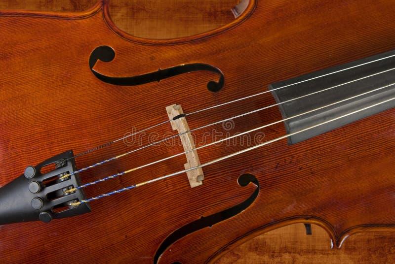 Cello of viool stock afbeelding