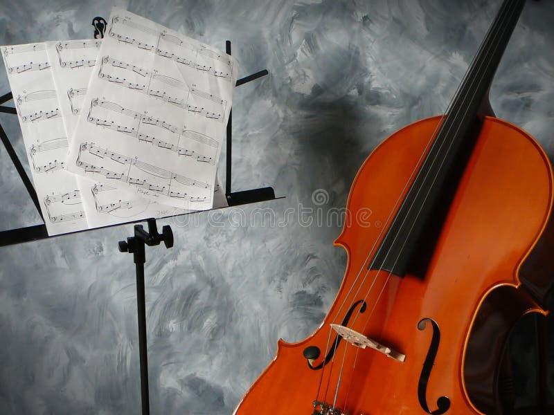 Cellokonzert lizenzfreie stockbilder