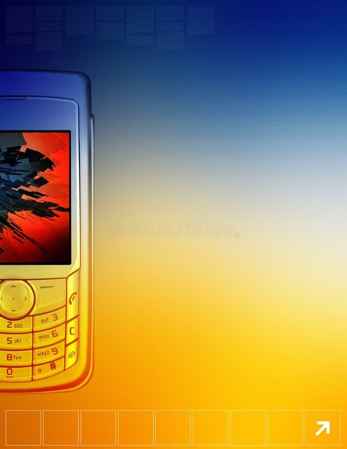 Cellphone stock illustration