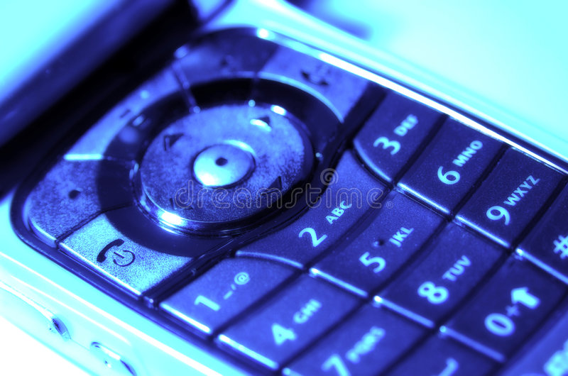 Cellphone Keypad 2 stock photos