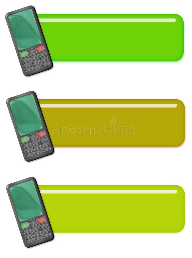 Download Cellphone tags or icons stock illustration. Illustration of communication - 8445538
