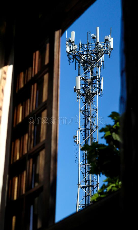 Cellphone Tower stock images