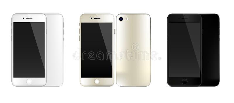 cellphones fotografia stock