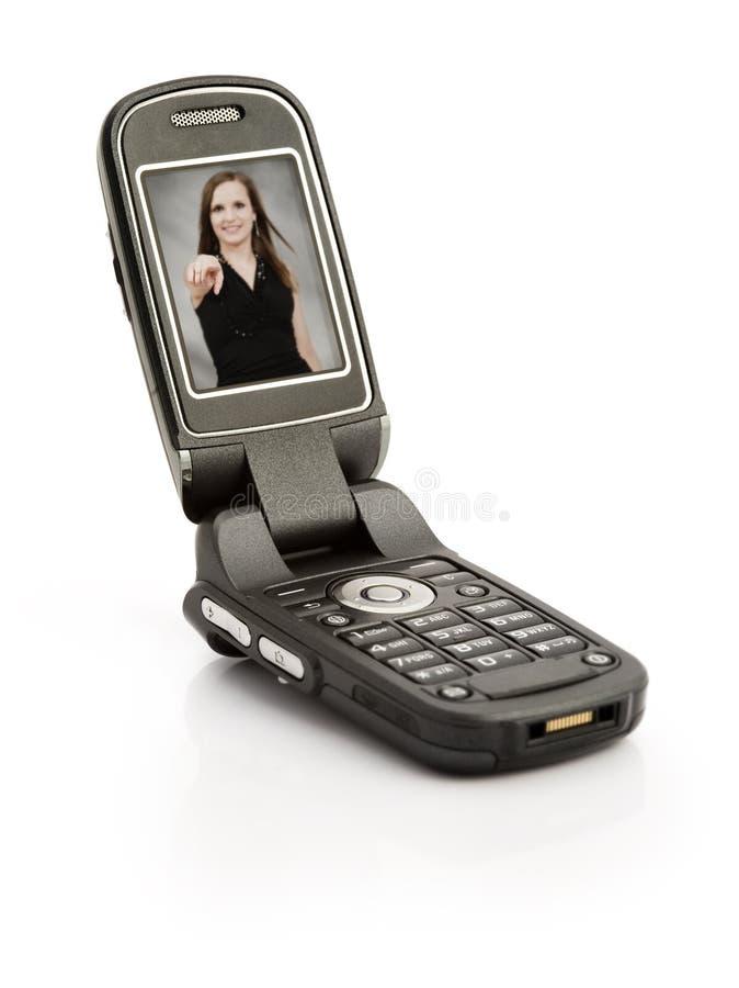 celltelefon royaltyfri foto