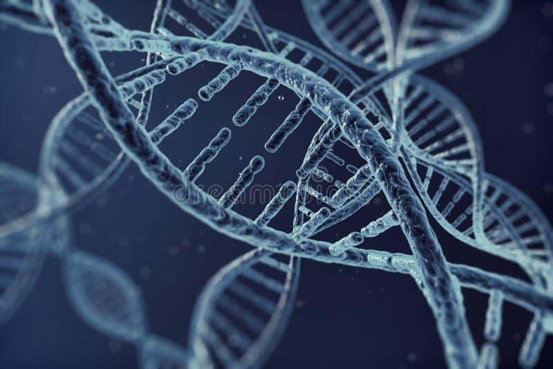 Cellula del DNA dell'illustrazione di Digital immagini stock