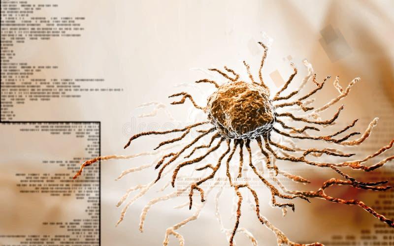 Cellula staminale illustrazione vettoriale