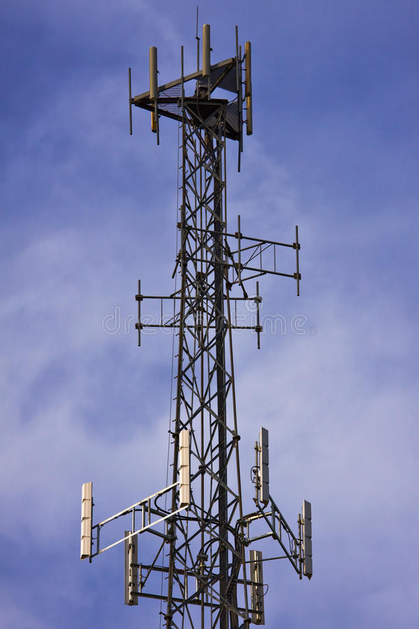 Cellulaire antenne stock afbeelding