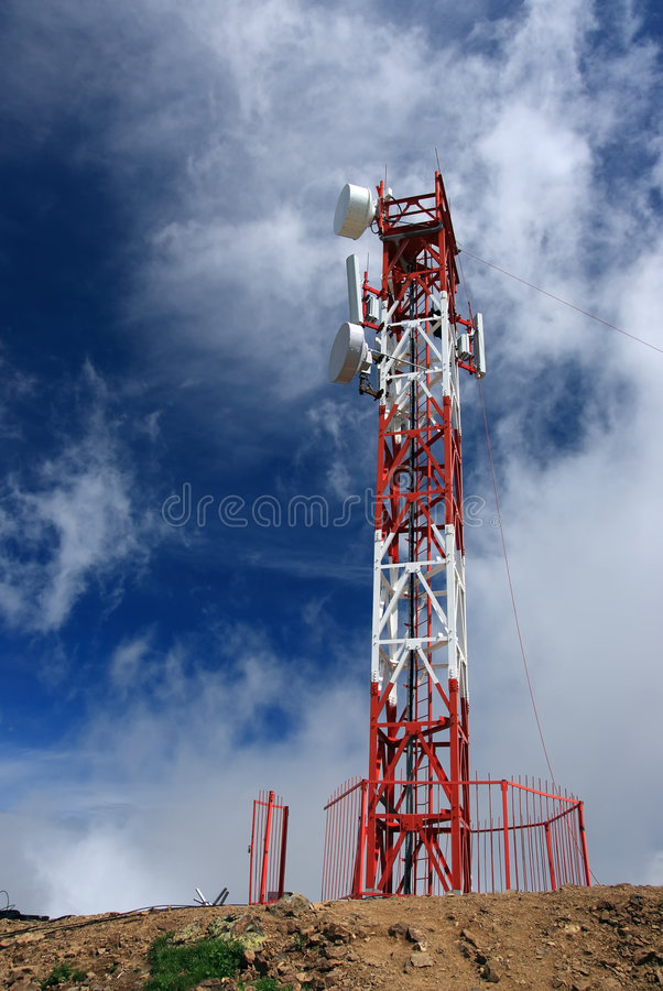 Cellulaire antenne stock foto