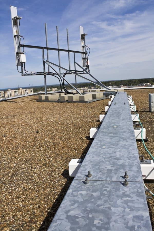 Cellulaire antennes stock foto