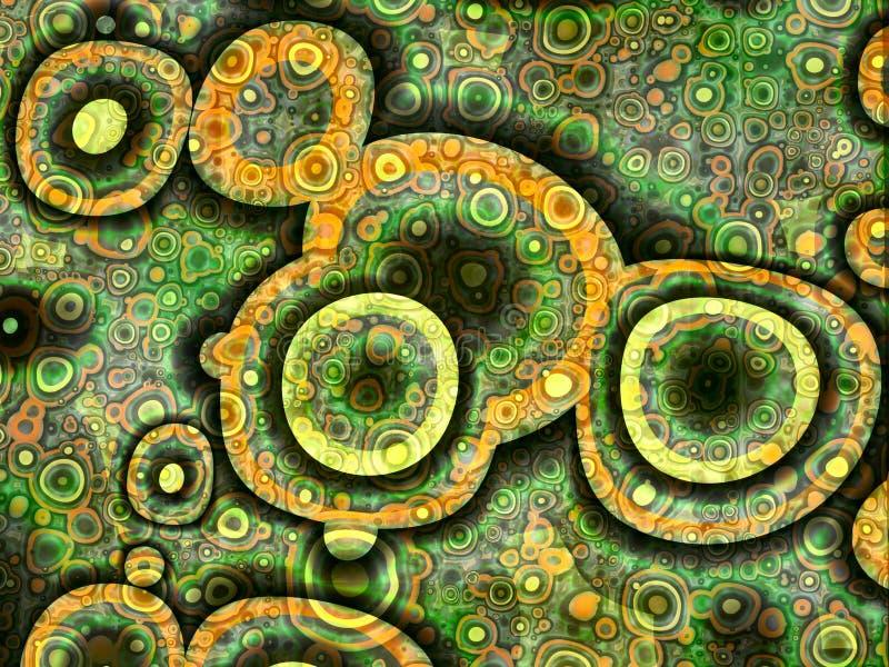 Cellulaire par conception illustration de vecteur