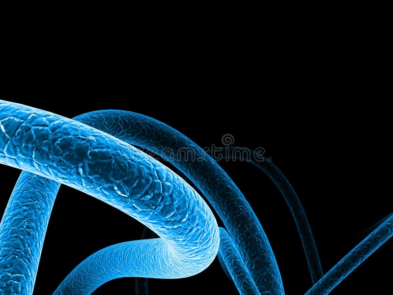 Download Cellular abstract 2 stock illustration. Image of background - 1516323