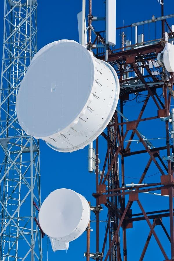 Download Cellular antenna stock image. Image of communication - 21730643