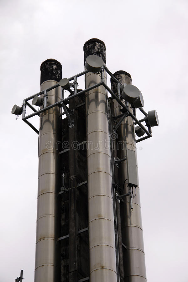 Download Cellular Communications Tower Stock Photo - Image: 12155772