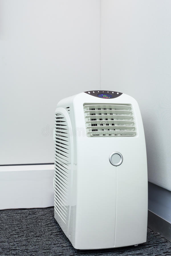 Cellulare del condizionatore d'aria per stanza fotografia stock