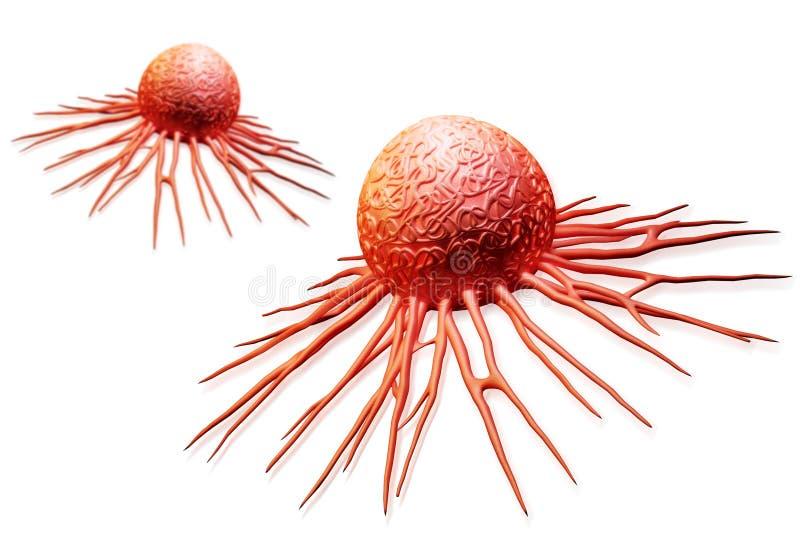 Cellule cancéreuse illustration de vecteur