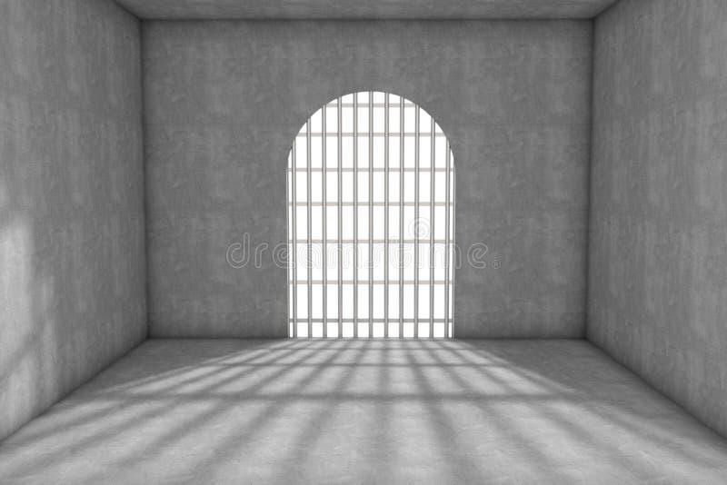 Cellule de prison illustration libre de droits