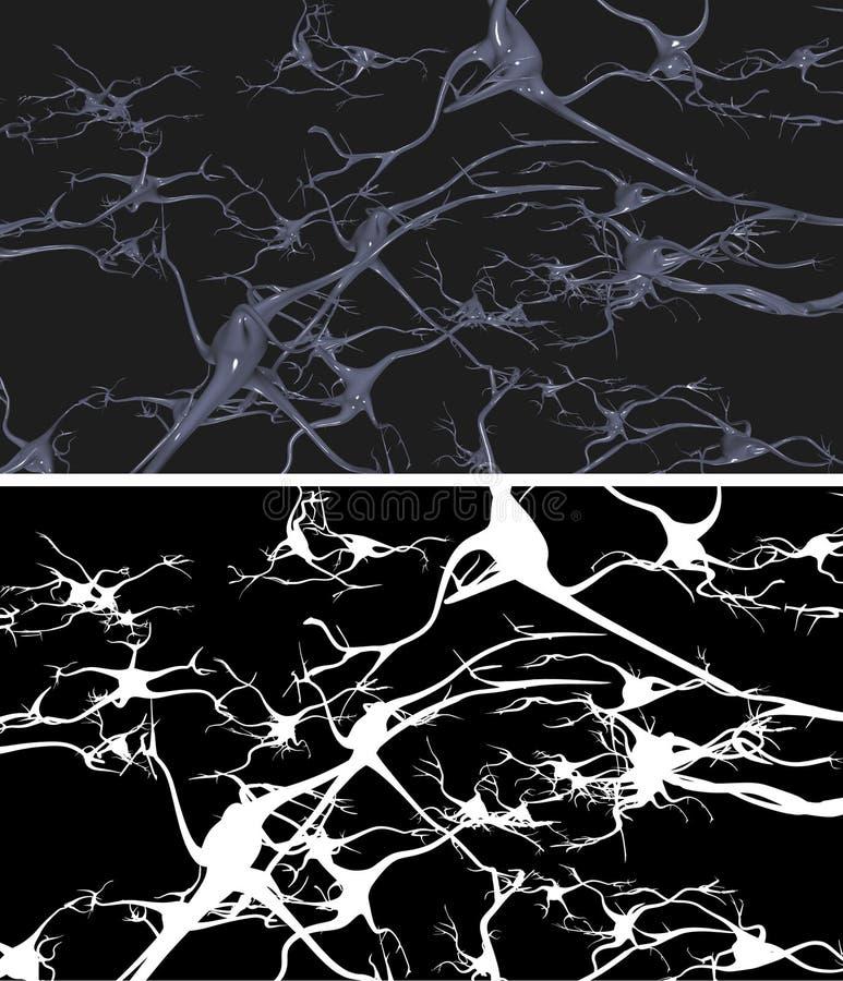 Cellule nervose royalty illustrazione gratis
