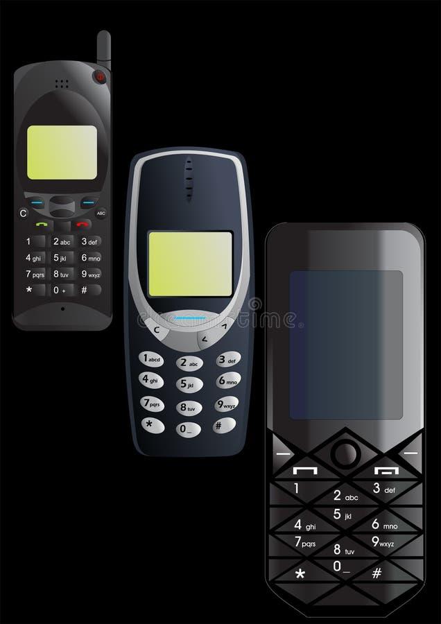 Cellule phone.cdr illustration de vecteur