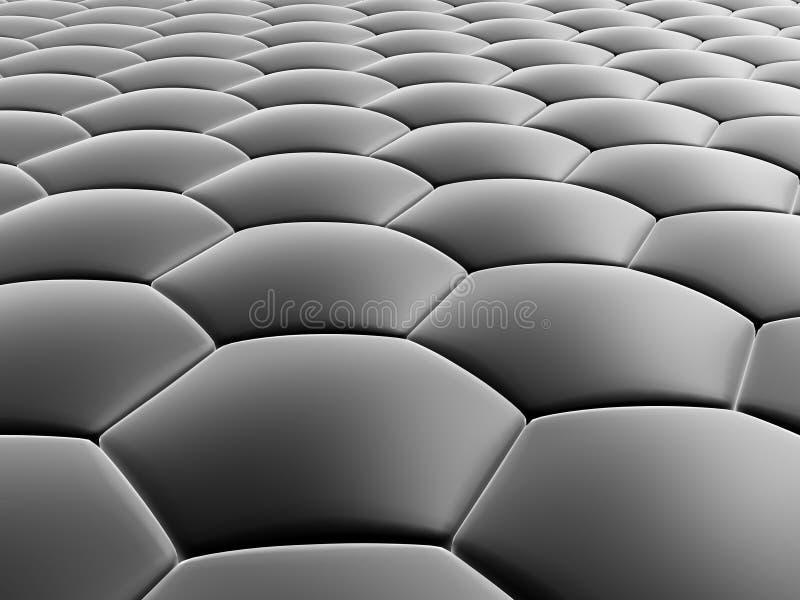 Cellules abstraites illustration stock