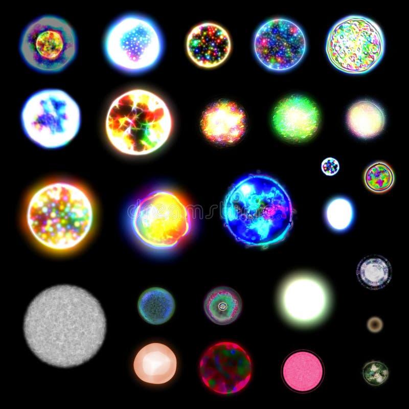 Cellules artificielles illustration libre de droits