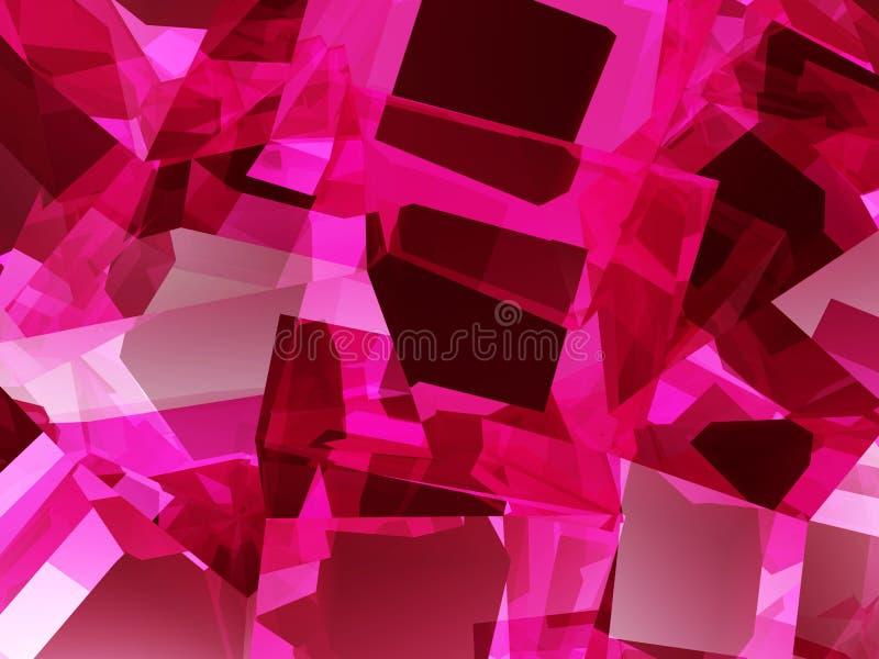 Cellules carrées 22 illustration libre de droits