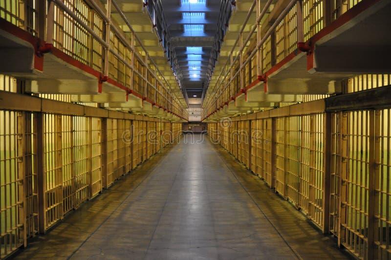 Cellules d'Alcatraz photo libre de droits