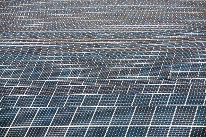 Cellules de panneau solaire photos stock