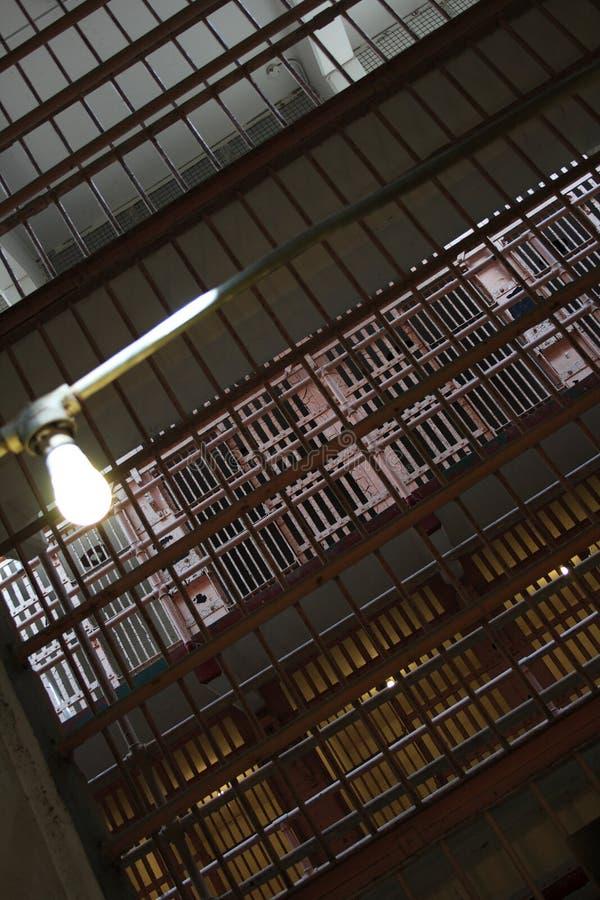 Cellules de prison photographie stock libre de droits