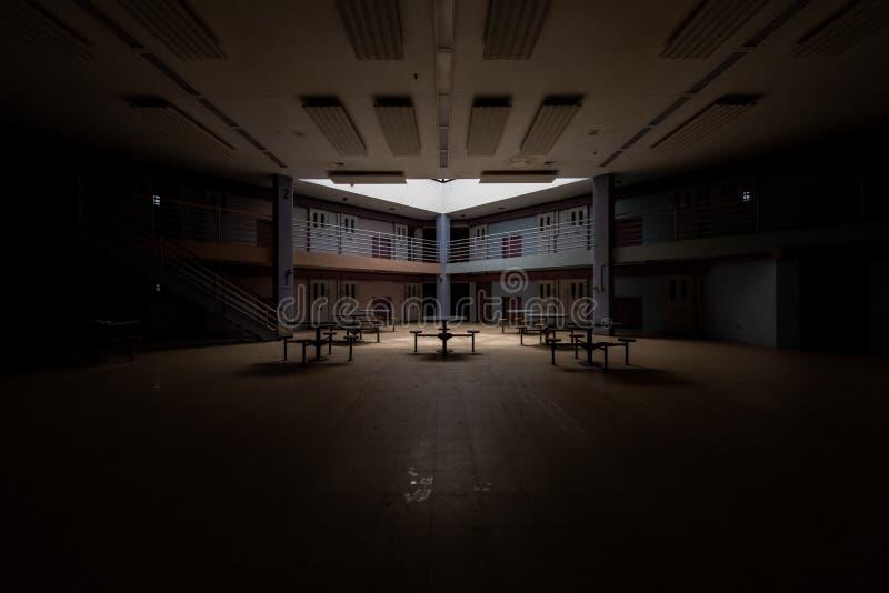Cellules de prison abandonnées - bloc de D - prison/sanatorium Cresson abandonnés - Pennsylvanie images stock