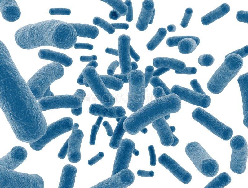 Cellules de virus illustration de vecteur