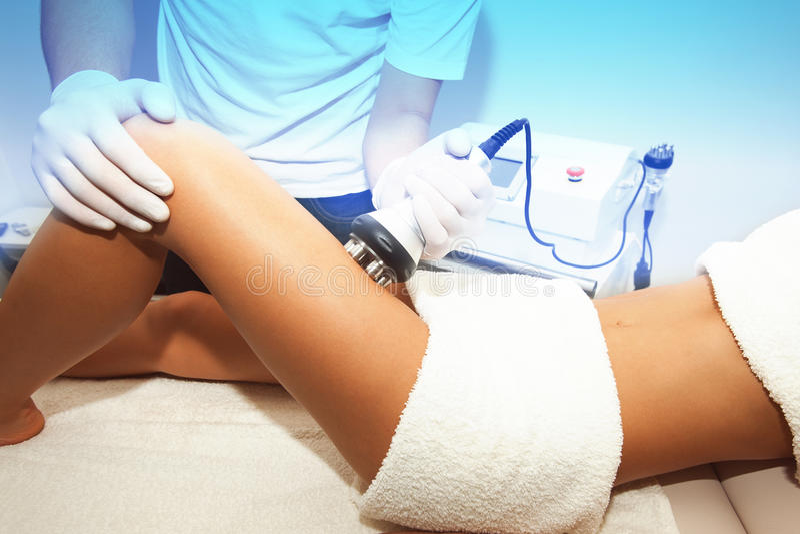 Cellulite treatment royalty free stock photo