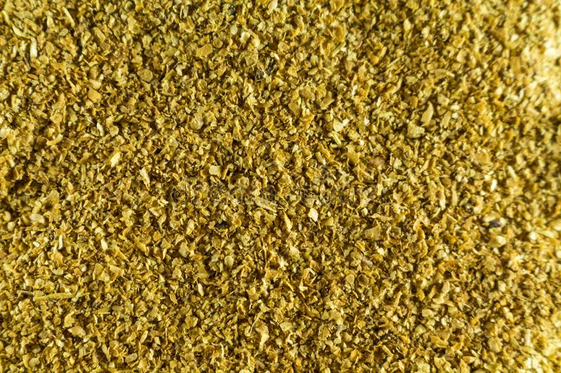 Cellulose. Food supplement. Looks like sawdust. close up wallpaper stock images
