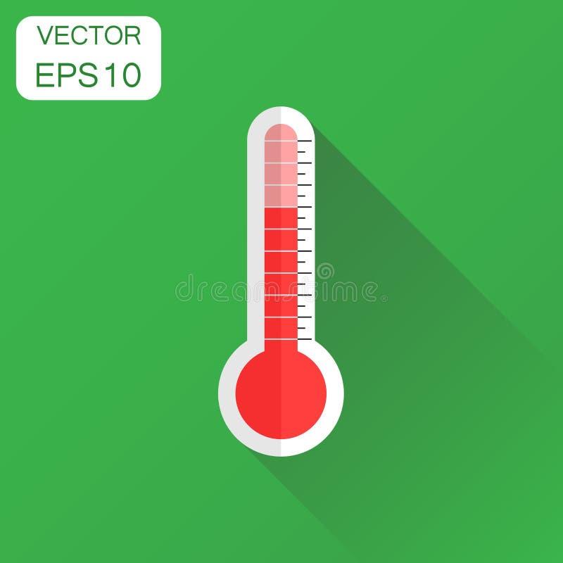 Celsiust och Fahrenheit Affärsidémålpictogram Vektor Illust vektor illustrationer